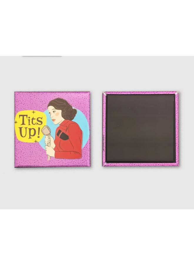 Mrs. Maisel Tits Up Magnet