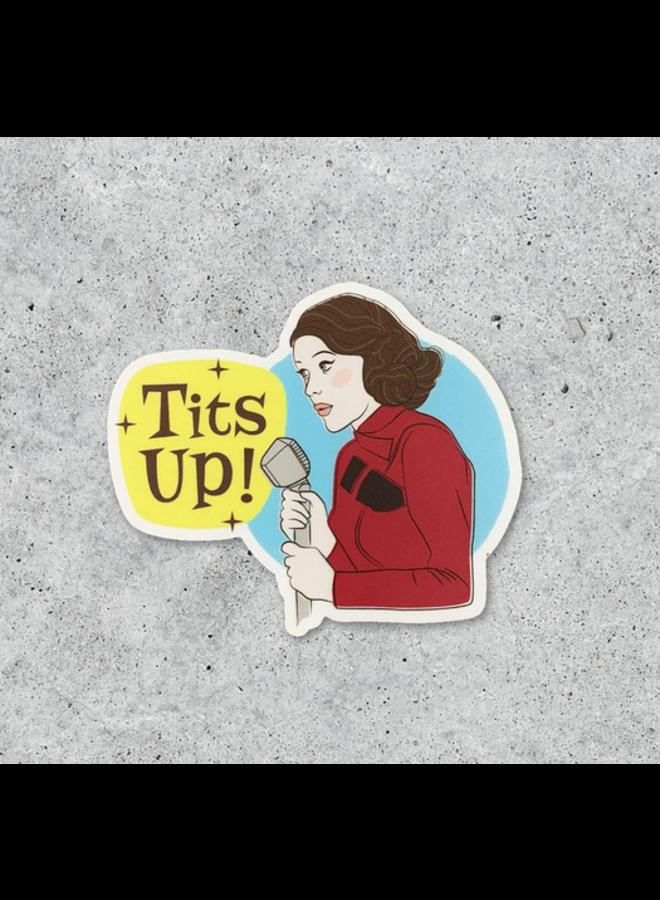 Mrs. Maisel Tits Up Sticker