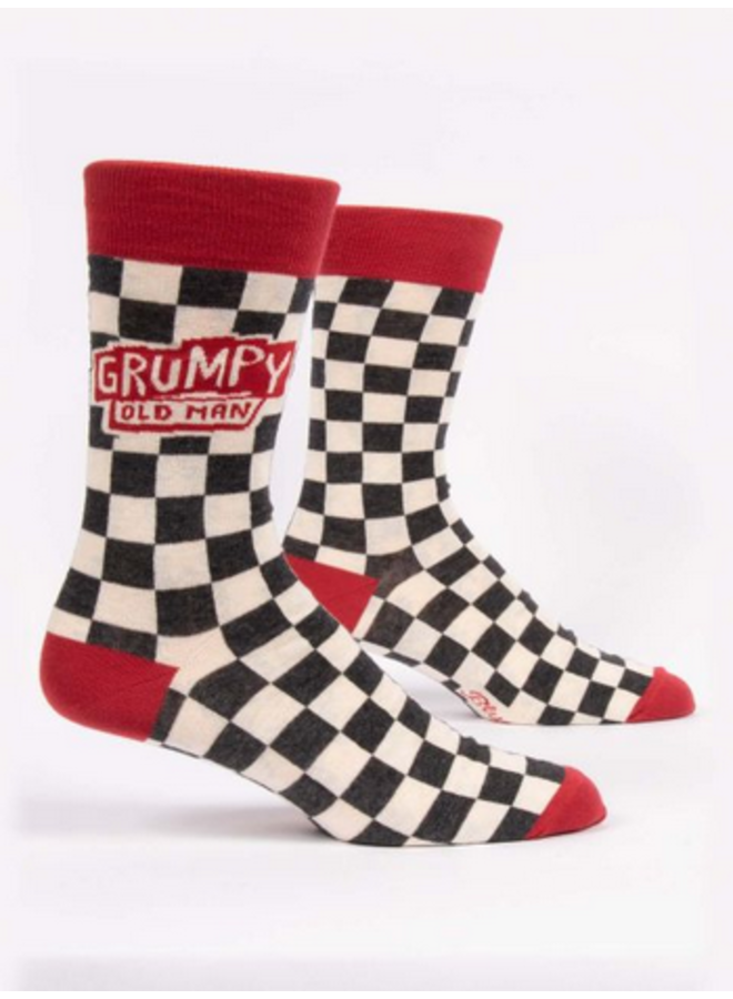 Grumpy Old Man Men's Socks