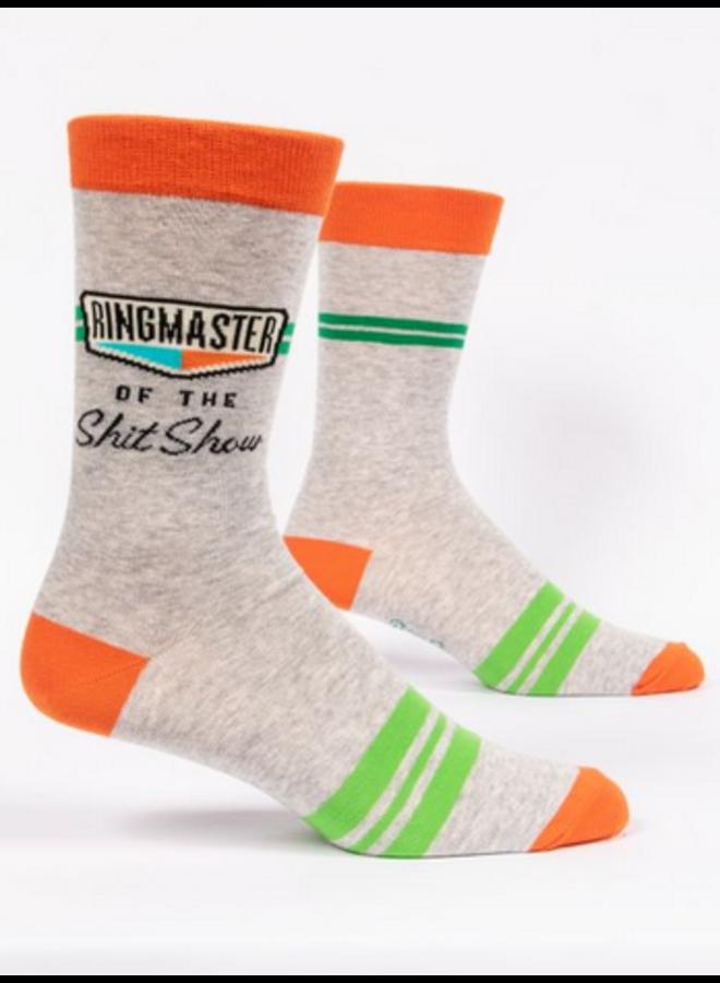 Ringmaster Shit Show Men's Socks