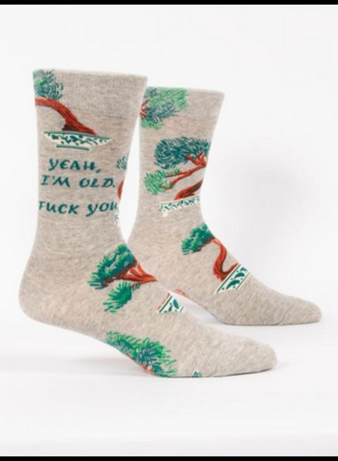 Yeah, I'm Old Men's Socks