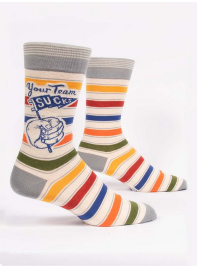 Your Team Sucks Men's Socks
