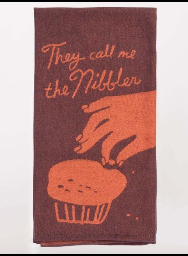 Call Me The Nibbler Dish Towel