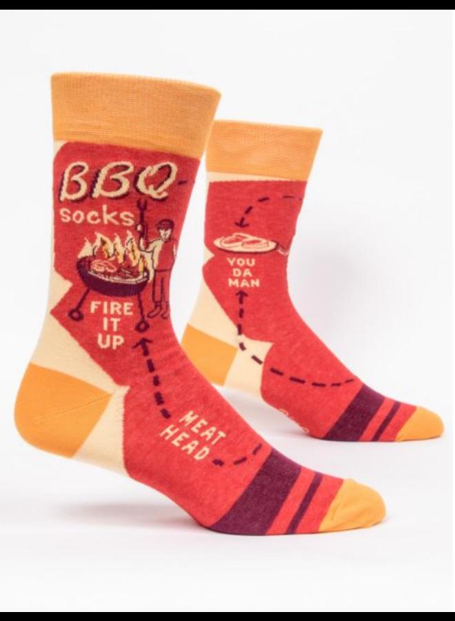 BBQ Mens socks