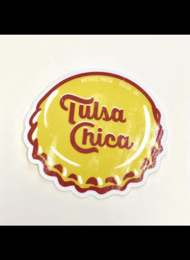 Tulsa Chica Sticker