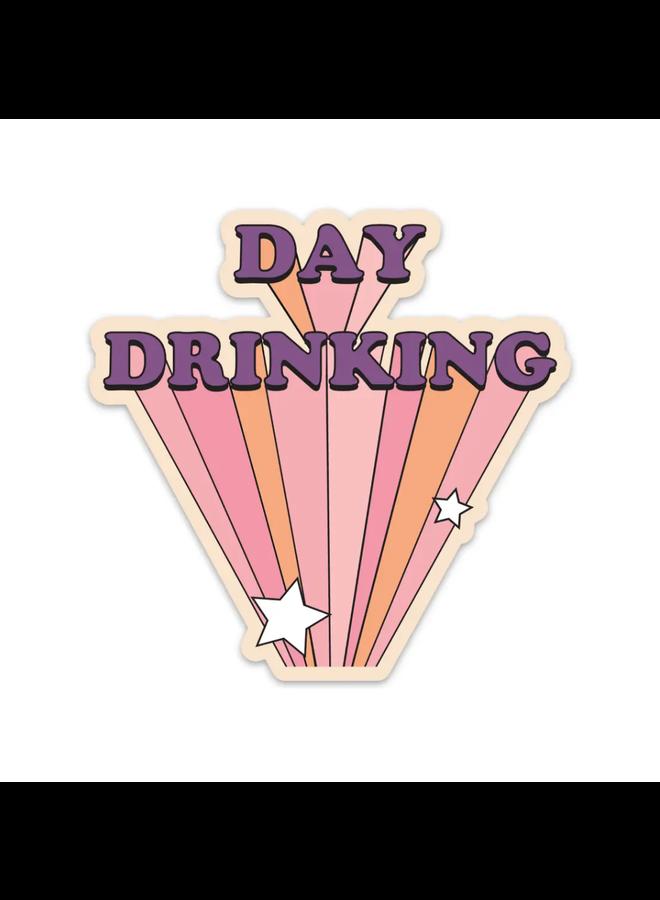 Day Drinking Sticker