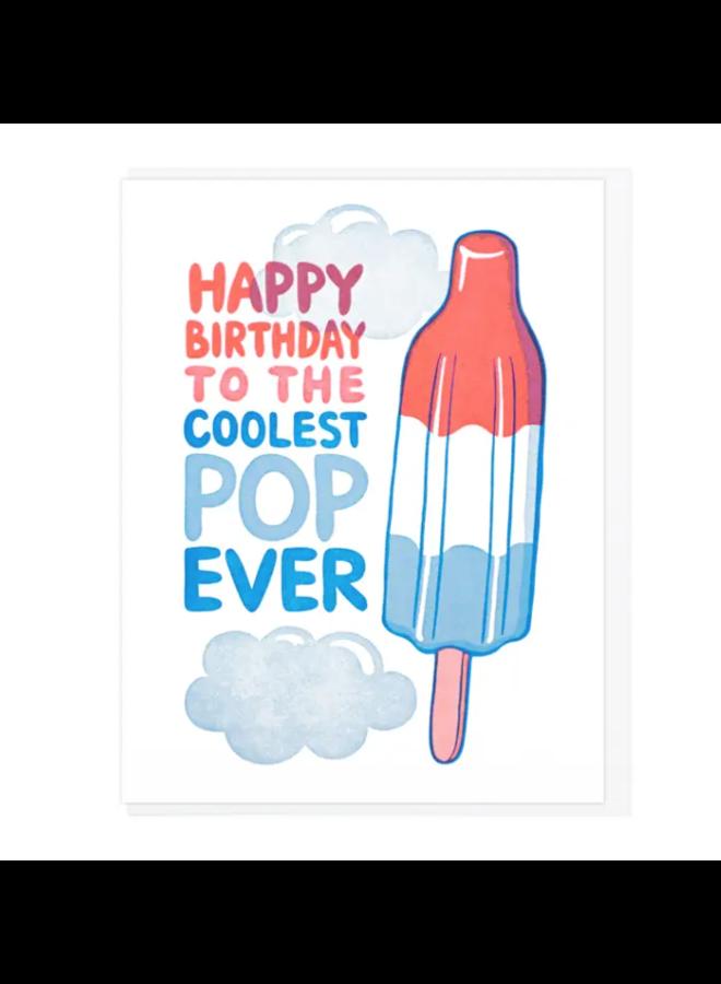 Happy Birthday Coolest Pop Card