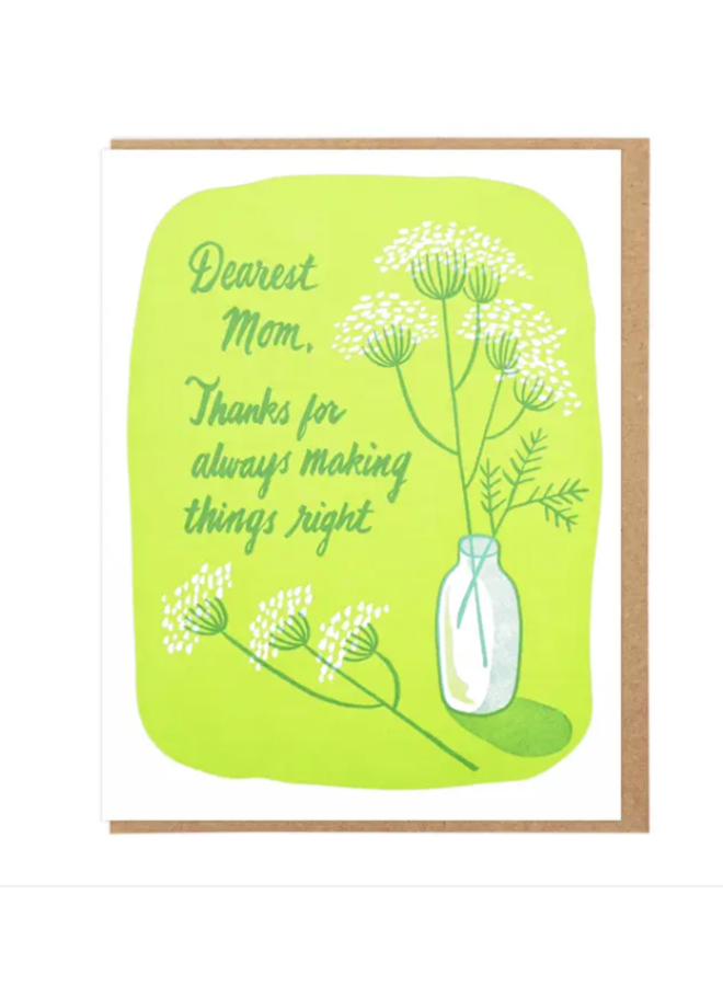 Dearest Mom Card