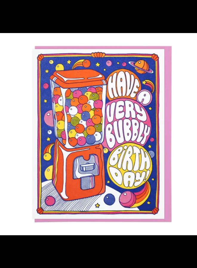 Bubbly Birthday Card