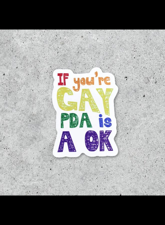 PDA is OK Sticker
