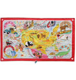CatStudio America Beach And Travel Towel