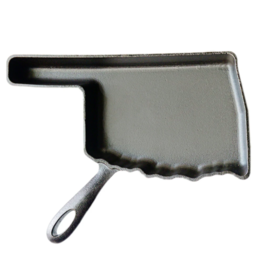 American Skillet Company Oklahoma Cast Iron Skillet