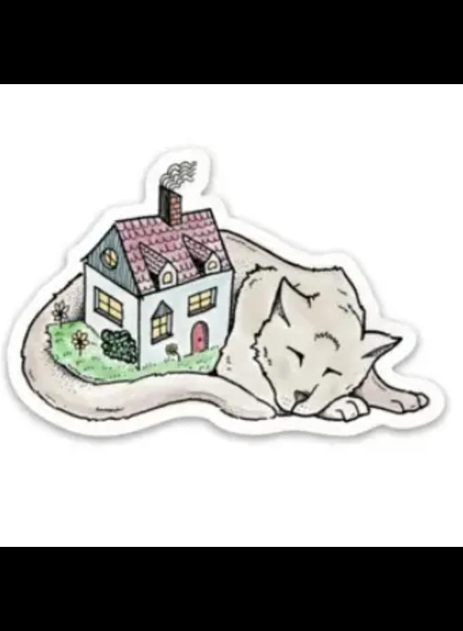 House Cat Sticker