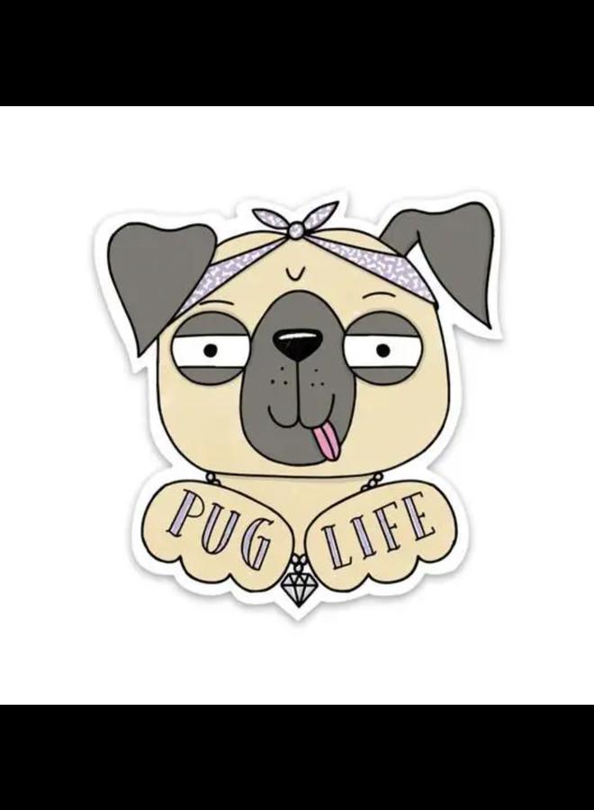 Pug Life Sticker