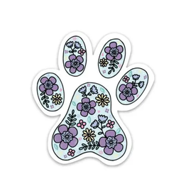 Big Moods Paw Print Sticker