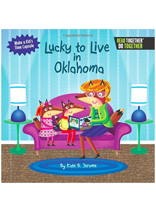 Lucky To Live In Oklahoma Book