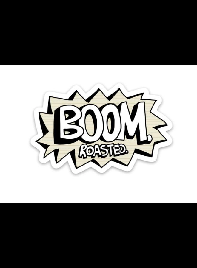 Boom Roasted - Office Sticker