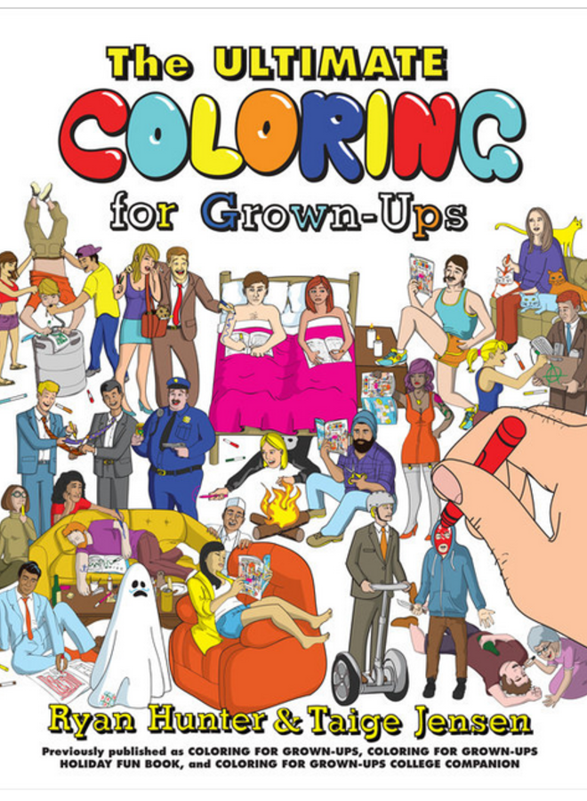 Ultimate Coloring for Grown-Ups