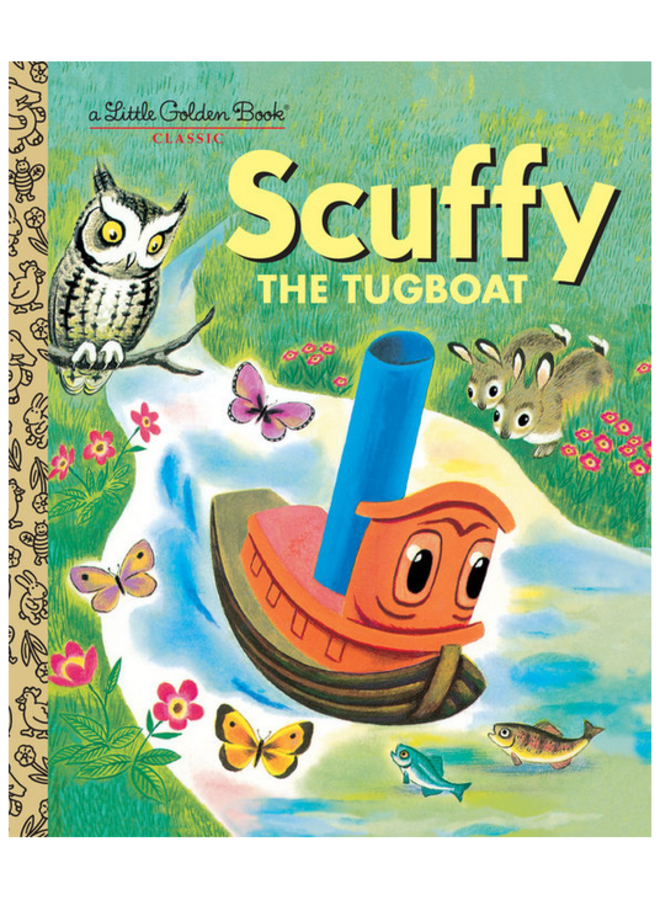 Scuffy the Tugboat - A Little Golden Book