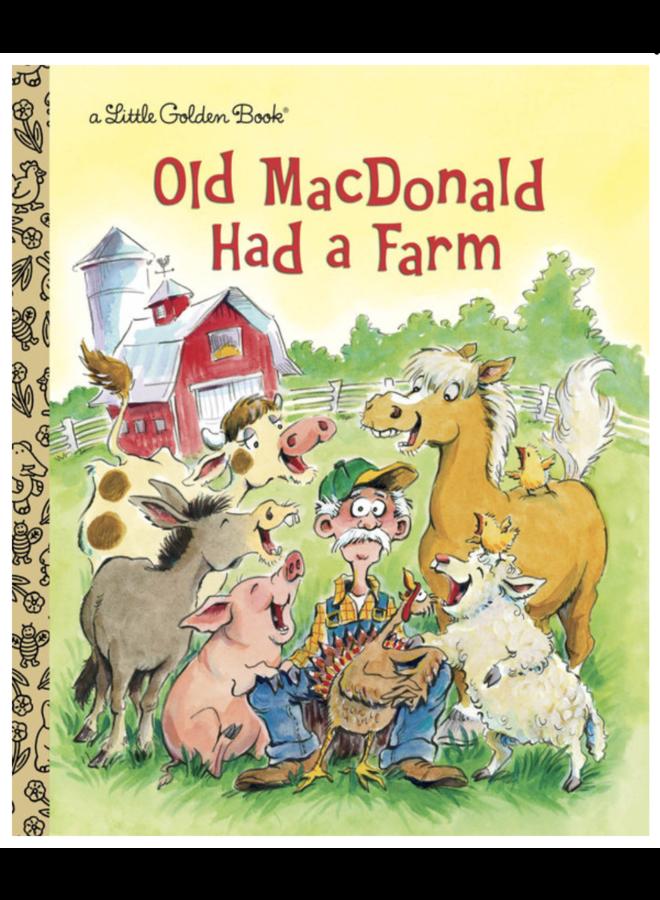 Old MacDonald Had a Farm - A Little Golden Book