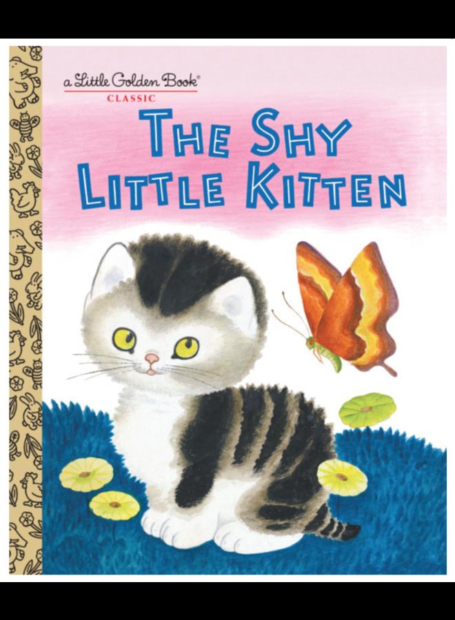 The Shy Little Kitten Golden Book
