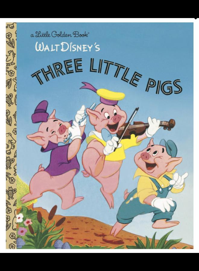 Walt Disneys Three Little Pigs - A Little Golden Book