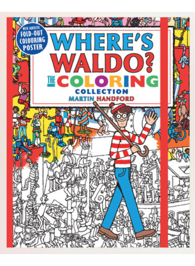 Where's Waldo Coloring Book