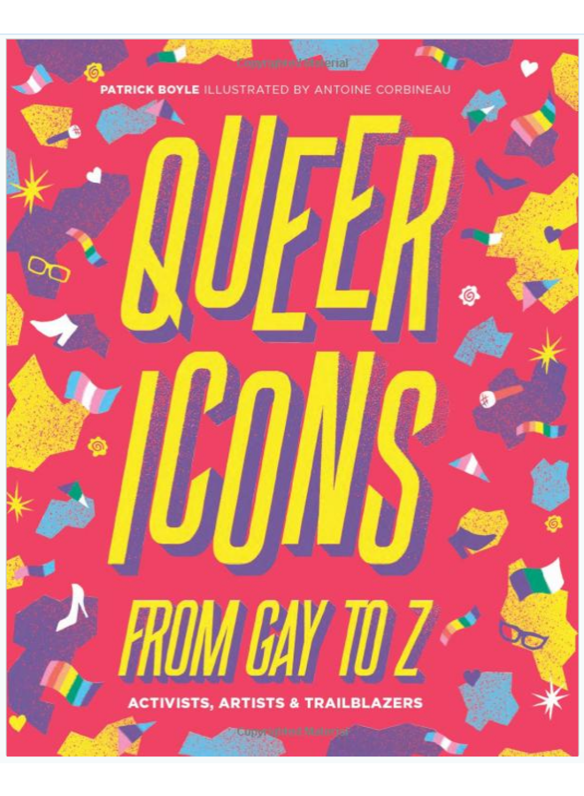 Queer Icons Gay To Z