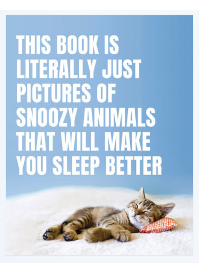 Pictures of Snoozy Animals