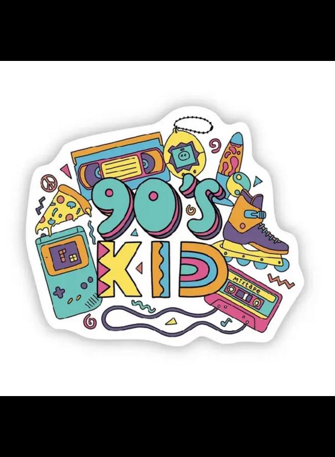 90s Kid Sticker