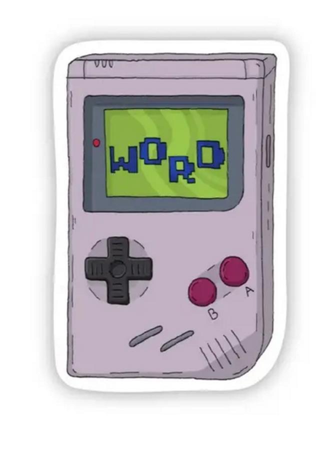 Word 90s Sticker