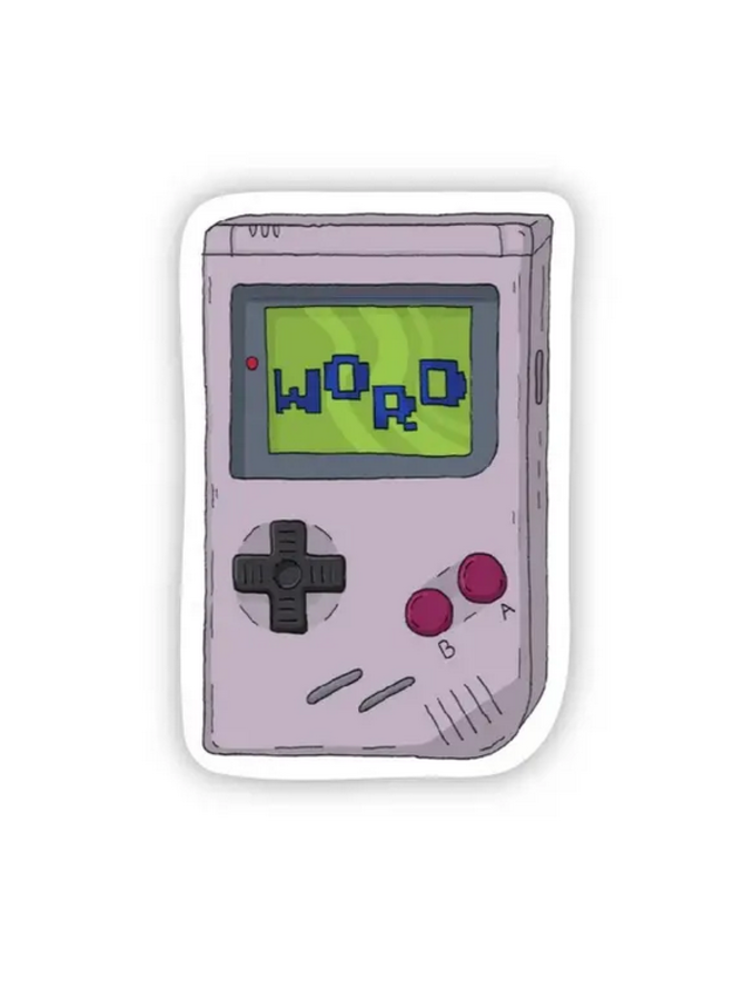 Word 90s Sticker