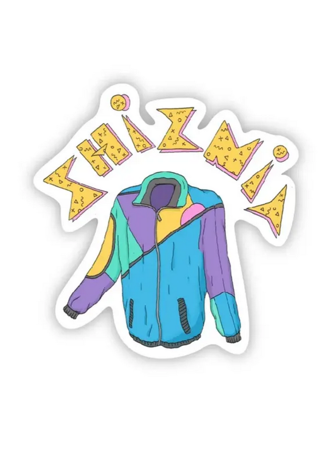 Shiznit 90s Sticker