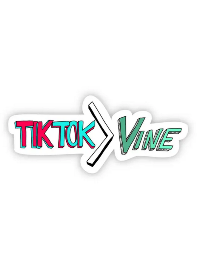 TikTok > Vine Sticker