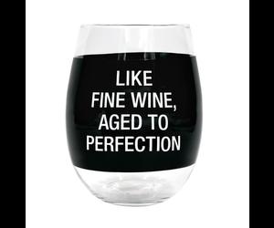 My Neck My Back My Wine and My Snacks Wine Glass