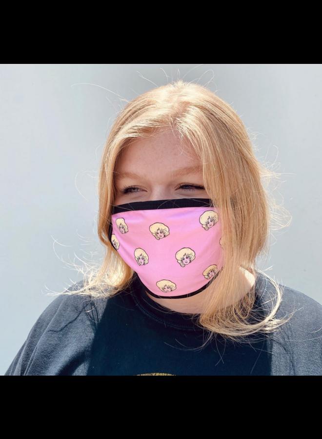 Dolly Parton Face Mask