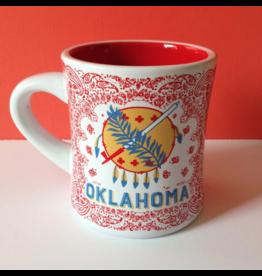 One Hundred 80 Degrees Oklahoma Stoneware Mug