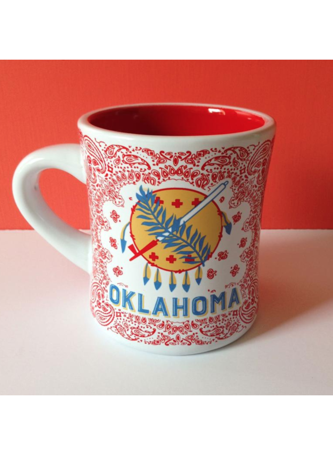 Oklahoma Stoneware Mug