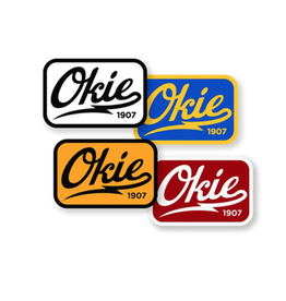 Heartland Quality Goods Co. Okie Logo Sticker
