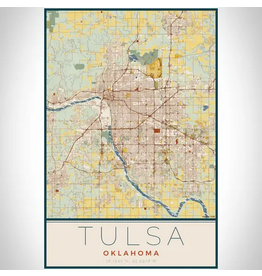 JACE.design Tulsa Map Print