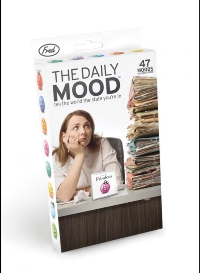Daily Mood Desk Flipchart