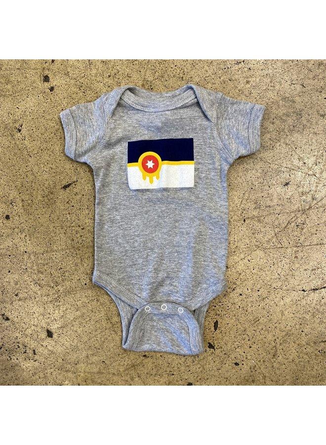 Tulsa Flag Onesie