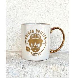Ida Red Stay Gold Driller Mug