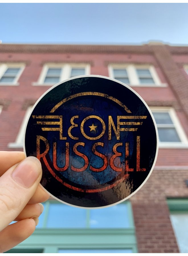 Leon Russell Wings Sticker
