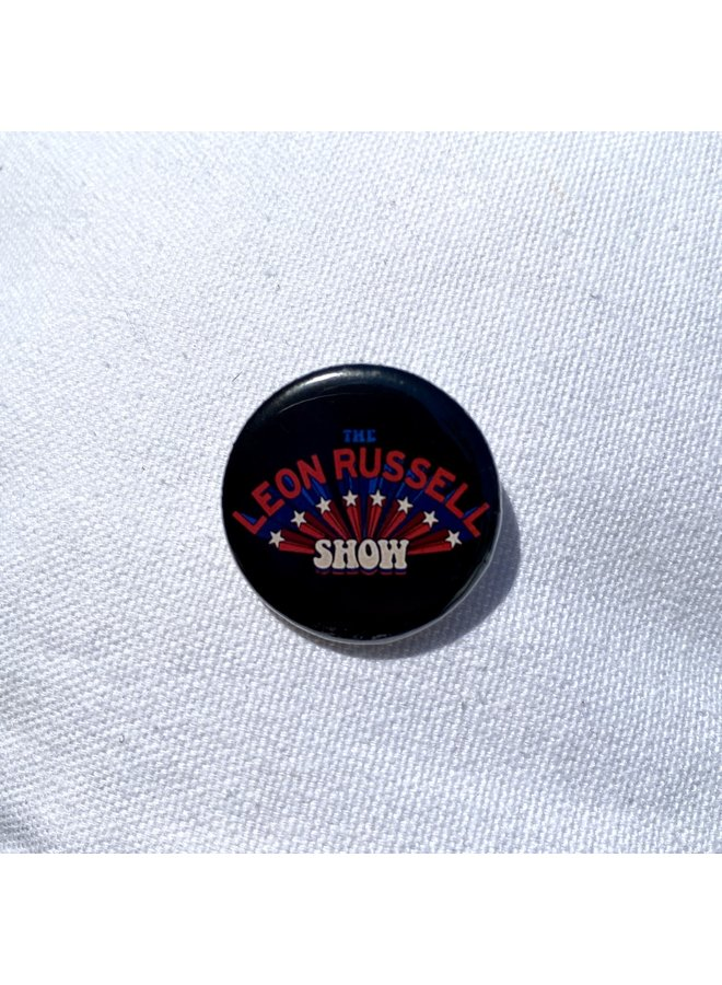 """Leon Russell Show 1.25"""" Button"""