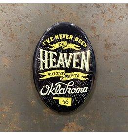 Ida Red Heaven Oval Magnet