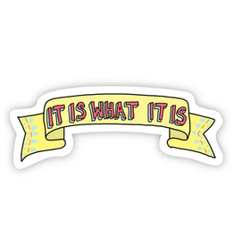 Big Moods It Is What It Is TikTok Sticker