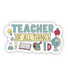 Big Moods Teacher Of All Things Sticker