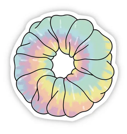 Big Moods Tie Dye Scrunchie Sticker