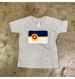 Ida Red Tulsa Flag Toddler Tshirt